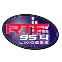 Logo of radio station RTF 95.4 FM