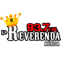 Logo of radio station XHMRI La Reverenda 93.7 FM