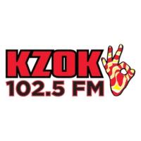 Logo of radio station KZOK 102.5