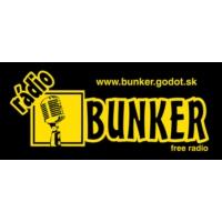 Logo of radio station Rádio Bunker