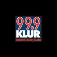 Logo of radio station KLUR 99.9