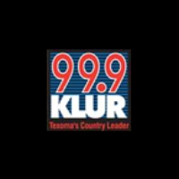 Logo of radio station KLUR 99.9