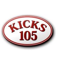 Logo of radio station KYKS Kicks Country Leader 105.1 FM