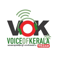 Logo de la radio Voice Of Kerela