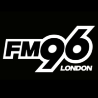 Logo of radio station FM96 London