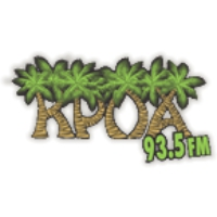Logo of radio station KPOA