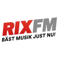 Logo of radio station RIX FM