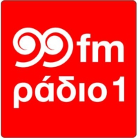 Logo of radio station 99fmΡάδιο1