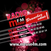Logo of radio station Meuse FM