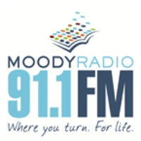 Logo of radio station WKES Moody Broadcasting Network 91.1 FM