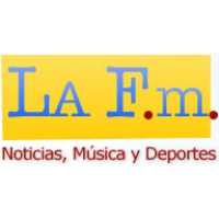 Logo of radio station La FM Cali
