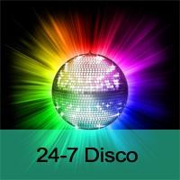 Logo de la radio 24-7 Disco