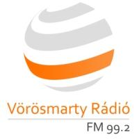 Logo of radio station Vörösmarty Rádió