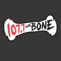 Logo de la radio KSAN 107.7 The Bone