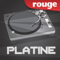 Logo of radio station Rouge FM Platine