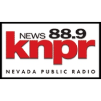 Logo of radio station KNPR