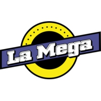 Logo of radio station La Mega