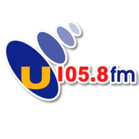 Logo of radio station U105.8 FM