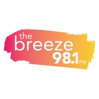 Logo of radio station KISQ 98.1 The Breeze
