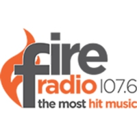 Logo of radio station Fire 107.6