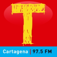 Logo of radio station Tropicana estéreo 97.5 FM