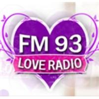 Logo de la radio Love Radio 93FM 93.0