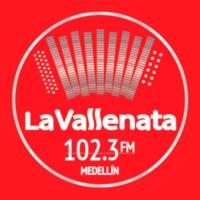 Logo of radio station La Vallenata