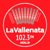 Logo of radio station La Vallenata