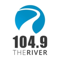 Logo of radio station WCVO 104.9 The River