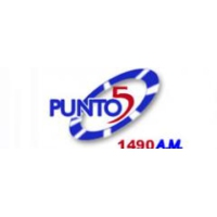 Logo of radio station Emisora Punto 5 1490 AM