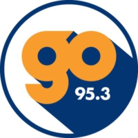 Logo of radio station KZGO Go 95.3