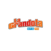 Logo of radio station XHFAMA La Grandota 97.5FM