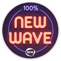 Logo of radio station RFM 100 % New Wave