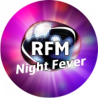 Logo of radio station RFM Night Fever