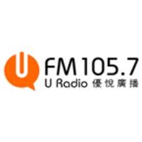 Logo of radio station FM105.7 U Radio