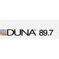 Logo of radio station Duna 89.7 FM