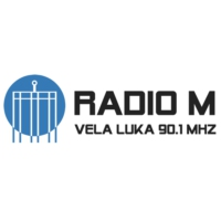 Logo of radio station Radio M - Vela Luka 90.1 MHz