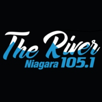 Logo of radio station 105.1 The River