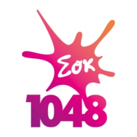 Logo of radio station Σοκ FM 104,8