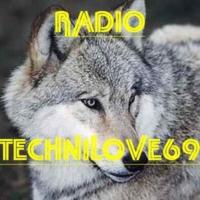 Logo of radio station TECHNILOVE69