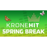 Logo of radio station KRONEHIT Spring Break