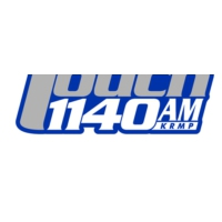 Logo of radio station KRMP The Touch 1140