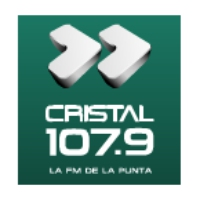 Logo of radio station Cristal FM 107.9