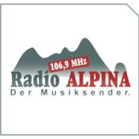 Logo of radio station Radio Alpina 106,9