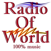 Logo of radio station radio of world