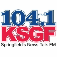 Logo of radio station KSGF 104.1
