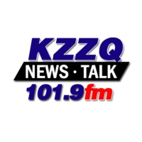 Logo of radio station KZZQ Christian Hit Radio 99.5 FM