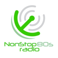 Logo of radio station NonStop80s Radio