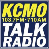 Logo of radio station KCMO Talk Radio