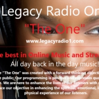 "Logo of radio station Legacy Radio ""The One - C-Jazz"